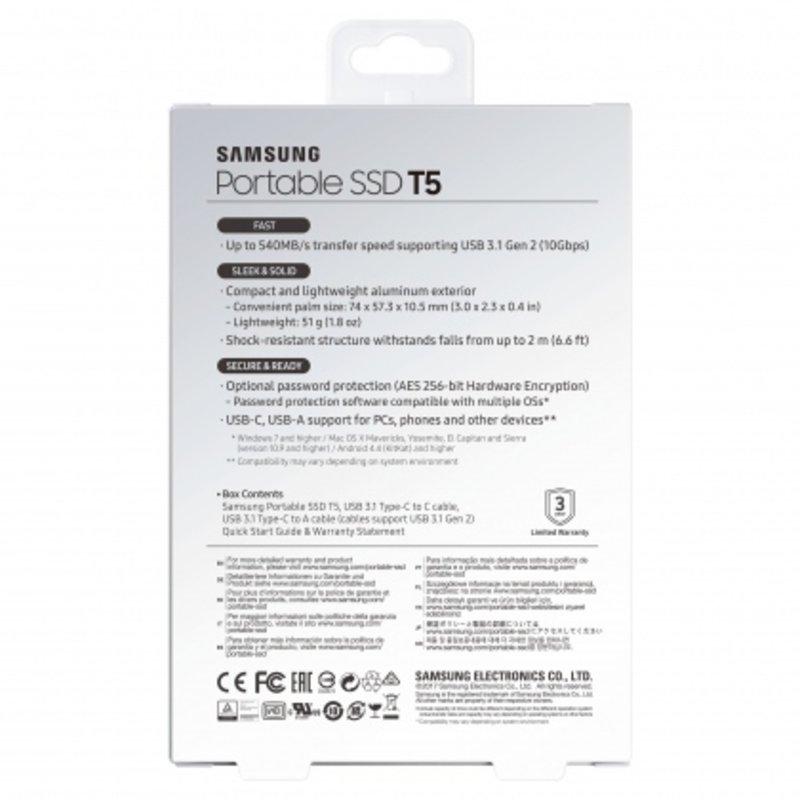 Ổ cứng di động SSD Portable 1TB Samsung T5