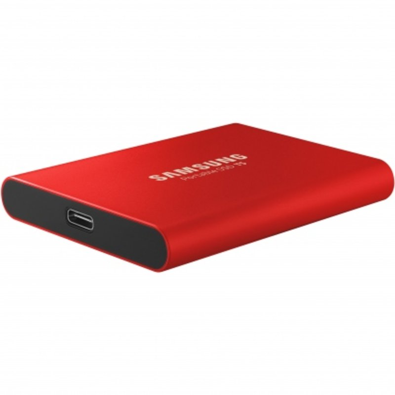 Ổ cứng di động SSD Portable 500GB Samsung T5 (Màu đỏ)