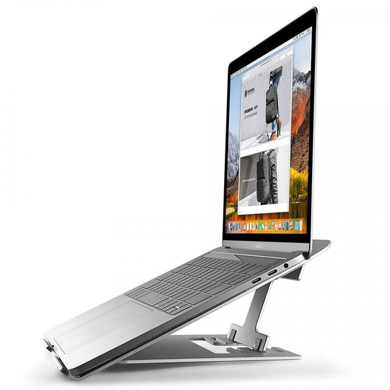 Đế Tản Nhiệt cơ động TOMTOC ALUMINUM Foldable for IPAD/MACBOOK & ANOTHER TABLET/LAPTOP