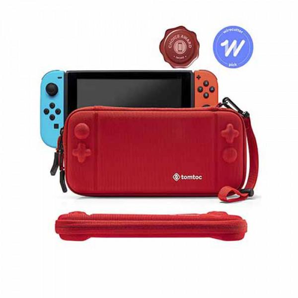 Túi chống va đập Tomtoc (USA) Nintendo Switch Slim Case(red)