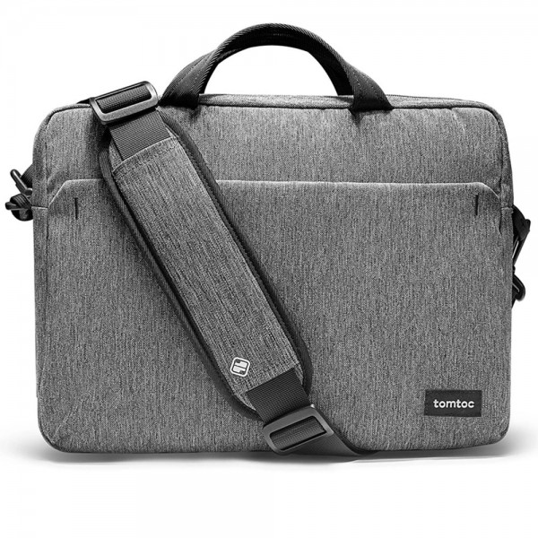 TÚI XÁCH TOMTOC (USA) SHOULDER BAG FOR ULTRABOOK 15″ GRAY