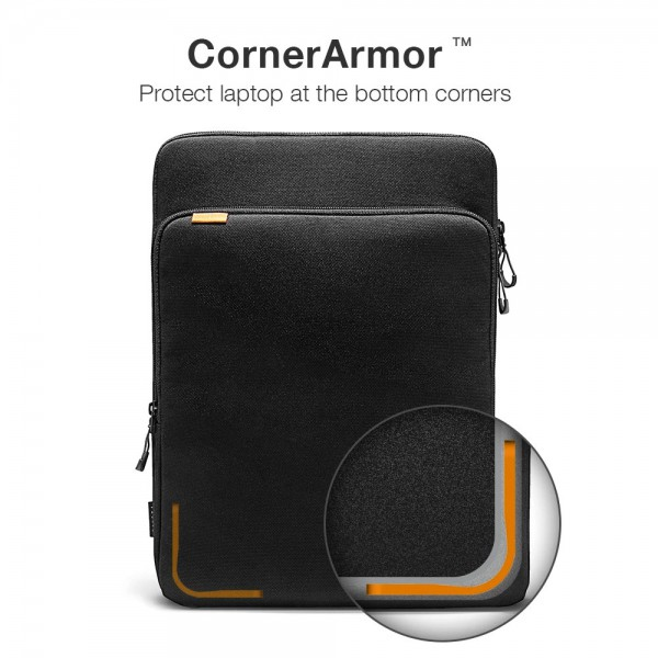 "TÚI XÁCH CHỐNG SỐC TOMTOC (USA) 360° Protection Premium  MACBOOK PRO 15"""