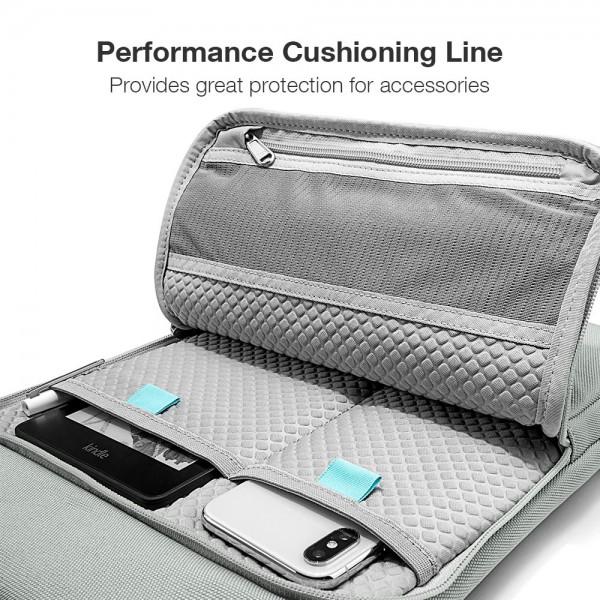 "TÚI XÁCH CHỐNG SỐC TOMTOC (USA) 360° Protection Premium  MACBOOK PRO 13"" Gray"