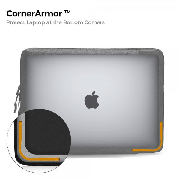 TÚI CHỐNG SỐC TOMTOC (USA) 360° Protective  MACBOOK PRO 15""