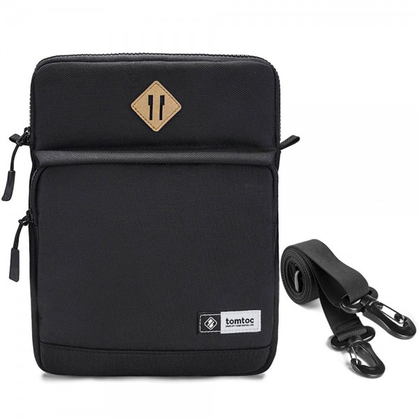 Túi Đeo chéo Chống sốc TOMTOC (USA) iPad 11inch-10.5inch Multi Function Shoulder Bags Black