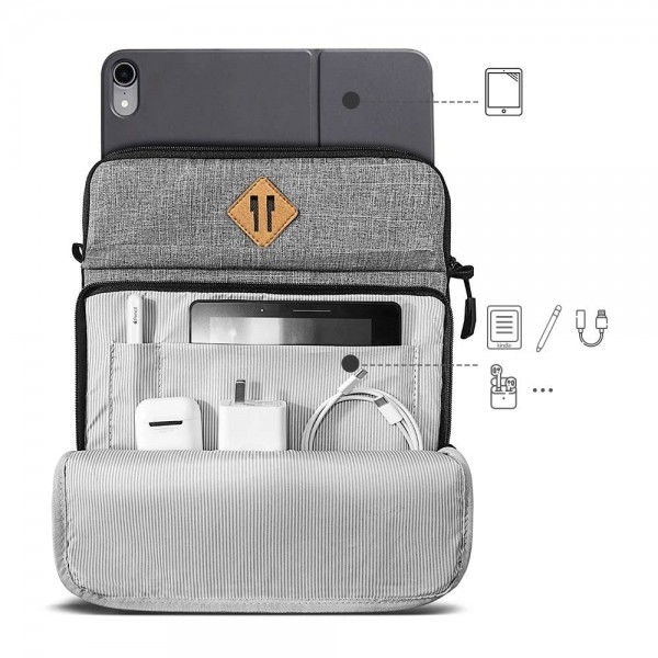 Túi Đeo chéo Chống sốc TOMTOC (USA) iPad 11inch-10.5inch Multi Function Shoulder Bags