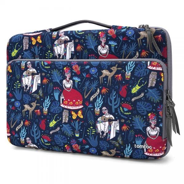 "TÚI XÁCH CHỐNG SỐC TOMTOC (USA) Briefcase  MACBOOK PRO 13"" Dazzling Blue"