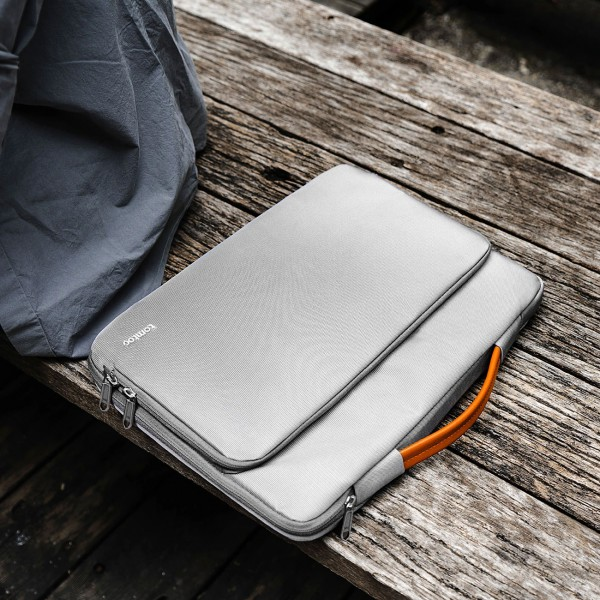 "TÚI XÁCH CHỐNG SỐC TOMTOC (USA) Briefcase  MACBOOK PRO 13"""