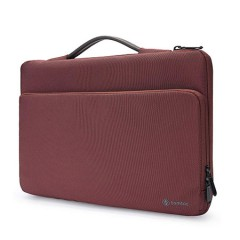 """TÚI XÁCH CHỐNG SỐC TOMTOC (USA) Briefcase  MACBOOK PRO 13"""" Red"""