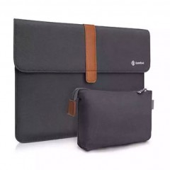 "TÚI CHỐNG SỐC TOMTOC (USA) ENVELOPE + POUCH  MACBOOK Air/Retina13"" Dark Gray"