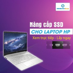 Thay SSD, nâng cấp SSD cho Laptop HP
