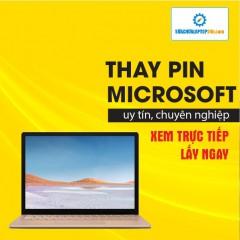 Thay pin Laptop Microsoft