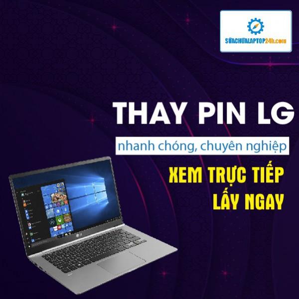 Thay pin Laptop LG