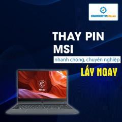 Thay pin Laptop MSI