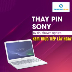 Thay pin Laptop Sony