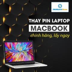 Thay pin Macbook