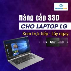 Nâng cấp SSD cho máy laptop LG Gram 17 (2020)