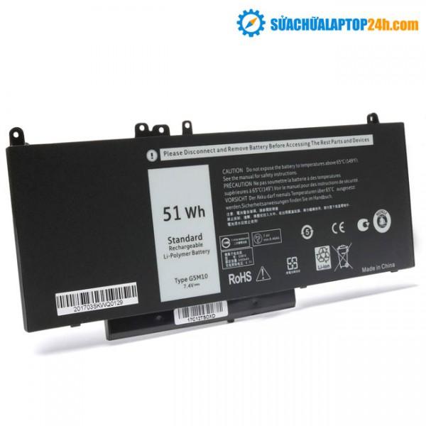 Pin Dell E5450 51Wh (G5M10)