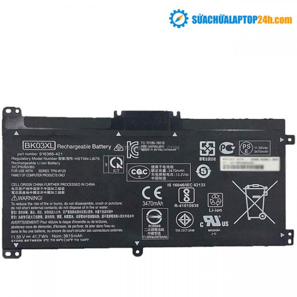 Pin HP 14M (BK03XL)