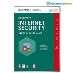 Phần mền diệt Virus Kaspersky InternetSecurity 3PC