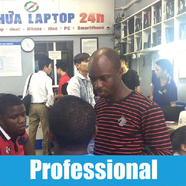 Professional is what we want to provide to customer