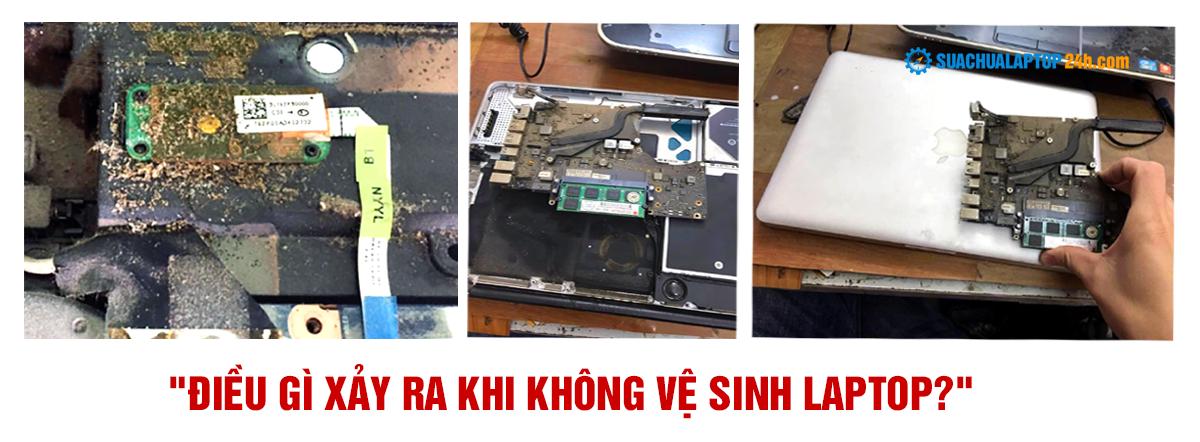 tác hại khi không vệ sinh laptop